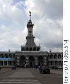 Купить «Северный речной вокзал - Москва», фото № 1065514, снято 8 августа 2009 г. (c) Алексей Стоянов / Фотобанк Лори