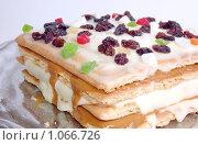 Десерт. Стоковое фото, фотограф Владимир Кириенко / Фотобанк Лори
