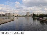 Купить «Устье реки Смоленки», фото № 1068718, снято 3 сентября 2009 г. (c) Светлана Соколова / Фотобанк Лори