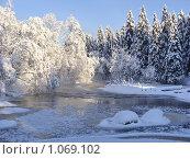 Купить «Зимняя река», эксклюзивное фото № 1069102, снято 31 января 2009 г. (c) Сергей Цепек / Фотобанк Лори