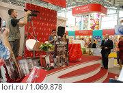 22 книжная выставка-ярмарка на ВВЦ (2009 год). Редакционное фото, фотограф Григорий Евсеев / Фотобанк Лори