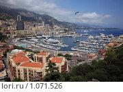 Купить «Княжество Монако. Порт», фото № 1071526, снято 11 июля 2009 г. (c) Татьяна Лата / Фотобанк Лори