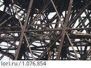 Фрагмент старинной металлической конструкции. Стоковое фото, фотограф Мамылин Антон / Фотобанк Лори