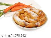 Купить «Болгарский морковный пирог», фото № 1078542, снято 18 августа 2009 г. (c) Елисей Воврженчик / Фотобанк Лори