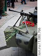 Купить «Коляска военного мотоцикла времён Великой Отечественной войны», фото № 1080766, снято 8 сентября 2009 г. (c) Михаил Браво / Фотобанк Лори