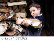 Купить «Маленький помощник», фото № 1081022, снято 23 августа 2009 г. (c) Андрей Аркуша / Фотобанк Лори