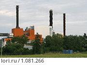 Купить «Теплоэлектростанция (Швеция)», фото № 1081266, снято 3 августа 2009 г. (c) Александр Секретарев / Фотобанк Лори