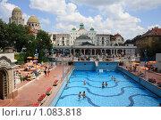 Купить «Будапешт. Купальни Геллерт», фото № 1083818, снято 1 июля 2009 г. (c) Наталья Белотелова / Фотобанк Лори
