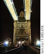 Купить «Тауэрский мост. Лондон. Великобритания», фото № 1085618, снято 29 сентября 2007 г. (c) Екатерина Овсянникова / Фотобанк Лори
