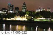 Купить «Ночной вид. Лондон. Великобритания», фото № 1085622, снято 29 сентября 2007 г. (c) Екатерина Овсянникова / Фотобанк Лори
