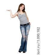 Купить «Молодая девушка», фото № 1090182, снято 7 марта 2009 г. (c) Сергей Сухоруков / Фотобанк Лори