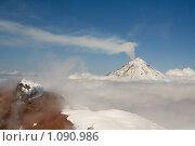 На вершине Авачинского вулкана. Стоковое фото, фотограф Владимир Ионов / Фотобанк Лори