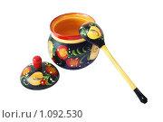 Деревянная традиционная русская посуда. Стоковое фото, фотограф Анфимов Леонид / Фотобанк Лори