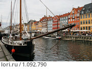Купить «Дания. Копенгаген. Городской пейзаж.», фото № 1092790, снято 4 августа 2009 г. (c) Александр Секретарев / Фотобанк Лори