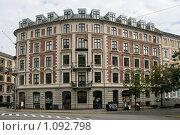 Купить «Дания. Копенгаген. Городской пейзаж.», фото № 1092798, снято 4 августа 2009 г. (c) Александр Секретарев / Фотобанк Лори
