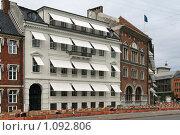 Купить «Дания. Копенгаген. Городской пейзаж.», фото № 1092806, снято 4 августа 2009 г. (c) Александр Секретарев / Фотобанк Лори