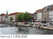 Купить «Дания. Копенгаген. Городской пейзаж.», фото № 1092834, снято 4 августа 2009 г. (c) Александр Секретарев / Фотобанк Лори