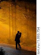 Купить «Влюбленные», фото № 1093754, снято 3 ноября 2008 г. (c) Алена Роот / Фотобанк Лори