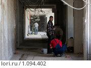 Купить «Ремонт в школе», фото № 1094402, снято 5 июня 2008 г. (c) Zelenograd.ru / Фотобанк Лори