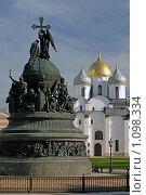 В Новгородском кремле, эксклюзивное фото № 1098334, снято 12 сентября 2009 г. (c) Самохвалов Артем / Фотобанк Лори