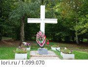Купить «Памятник погибшим в Воронцовском парке», фото № 1099070, снято 17 сентября 2009 г. (c) Григорий Евсеев / Фотобанк Лори