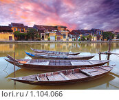 Купить «Вид на старый город. Хойан. Вьетнам», фото № 1104066, снято 23 июля 2009 г. (c) Ольга Хорошунова / Фотобанк Лори