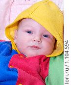 Младенец. Стоковое фото, фотограф Михаил Сметанин / Фотобанк Лори