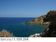 Залив в Ваи на острове Крит. Стоковое фото, фотограф Лебедева Дарья / Фотобанк Лори