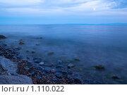 Байкал ночью. Стоковое фото, фотограф Андрей Мелкозеров / Фотобанк Лори