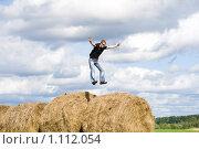 Сено. Стоковое фото, фотограф юлия юрочка / Фотобанк Лори