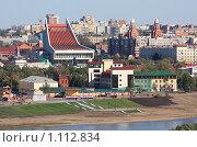 Купить «Город Омск», фото № 1112834, снято 18 сентября 2009 г. (c) Юлия Машкова / Фотобанк Лори
