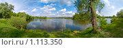 Десна летом. Стоковое фото, фотограф Galina Semenova / Фотобанк Лори