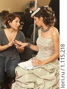 Купить «Олеся Железняк в гримерке», фото № 1115218, снято 23 октября 2007 г. (c) Сафронова Мария / Фотобанк Лори