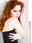Купить «Портрет девушки», фото № 1119058, снято 27 февраля 2009 г. (c) Вероника Галкина / Фотобанк Лори