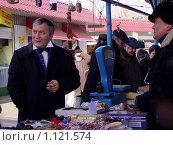 Купить «Ярмарка», фото № 1121574, снято 19 января 2019 г. (c) natalya ryzhko / Фотобанк Лори