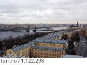 Санкт-Петербург с крыши Смольного собора (2008 год). Стоковое фото, фотограф Дмитрий Сузан / Фотобанк Лори