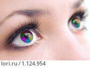 Купить «Разноцветные глаза», фото № 1124954, снято 10 мая 2009 г. (c) Алексей Многосмыслов / Фотобанк Лори