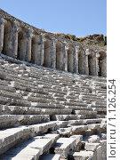 Римский амфитеатр, Турция (2009 год). Стоковое фото, фотограф Анфимов Леонид / Фотобанк Лори