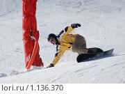 Купить «Сноубордист», фото № 1136370, снято 5 января 2009 г. (c) Сергей Шумаков / Фотобанк Лори