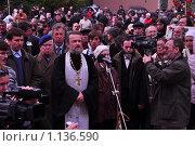На панихиде в память о погибших (2009 год). Редакционное фото, фотограф Сергей Валентинович Анчуков / Фотобанк Лори