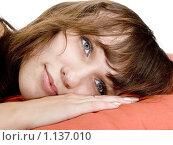 Портрет девушки. Стоковое фото, фотограф Леонид Козлов / Фотобанк Лори