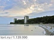 Купить «Курорт Пицунда в Абхазии», фото № 1139990, снято 9 сентября 2007 г. (c) Мария Ковалёва / Фотобанк Лори