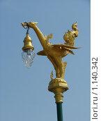 Купить «Таиланд, Паттайя, декоративный элемент, светильник», фото № 1140342, снято 15 марта 2009 г. (c) Елена Воронкова / Фотобанк Лори