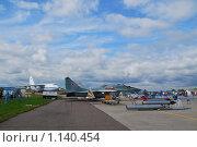 Купить «Фронтовые истребители Миг-29СМТ с комплектом боеприпасов», эксклюзивное фото № 1140454, снято 19 августа 2009 г. (c) Алёшина Оксана / Фотобанк Лори