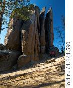 """Купить «Заповедник """"Столбы""""», фото № 1141590, снято 2 октября 2009 г. (c) Andrey M / Фотобанк Лори"""