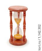 Купить «Песочные часы на белом фоне», фото № 1142302, снято 23 сентября 2006 г. (c) Elnur / Фотобанк Лори