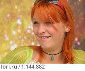 Девушка с рыжими волосами. Стоковое фото, фотограф Ниязова Светлана / Фотобанк Лори