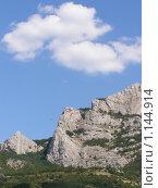 Горный пейзаж. Стоковое фото, фотограф Николай Иванов / Фотобанк Лори