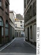 Купить «Франция. Страсбург. Городской пейзаж», фото № 1146338, снято 9 августа 2009 г. (c) Александр Секретарев / Фотобанк Лори