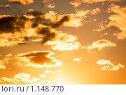 Облака на закате. Стоковое фото, фотограф Дмитрий Малахов / Фотобанк Лори